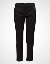 Scotch & Soda Tailored Stretch Pants With A Contrast Side Panel