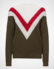 Mango Tricolor Cotton Sweater