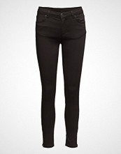 2nd One Nicole 006 Zip, Moon Black Satin, Jeans
