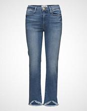 FRAME Le High Strt Tr Slim Jeans Blå FRAME