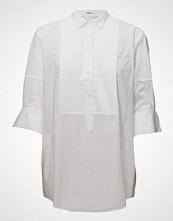 Filippa K Pintuck Tuxedo Shirt Langermet Skjorte Hvit FILIPPA K