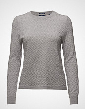 Gant Op1. Mini Cable Crew Neck