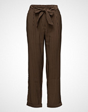 Mango Striped Bow Trousers