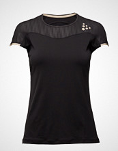 Craft Shade Ss Tee T-shirts & Tops Short-sleeved Svart Craft