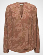 Rabens Saloner Camouflage L/S Blouse