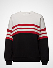 Mango Striped Cotton-Blend Sweatshirt