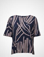 Nanso Ladies Shirt, Kokos Bluse Kortermet Grå NANSO
