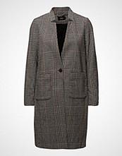 Only Onlhelen Check Wool Coat Cc Otw