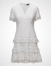 French Connection Arta Lace Vnck Ruffle Dress