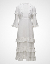 by Ti Mo Broderie Anglaise Midi Dress