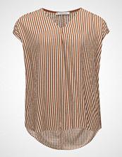 Violeta by Mango Textured Stripe-Patterned Blouse