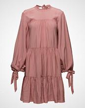 3.1 Phillip Lim Ls Short Gathered Dress Kort Kjole Rosa 3.1 PHILLIP LIM