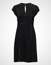 Karl Lagerfeld Karl Lagerfeld-Fit & Flare Dress W/Mesh