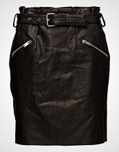 Only Onqopus Paperbag Leather Skirt Otw