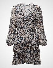 3.1 Phillip Lim Ls Painted Dot Ruffle Dress Kort Kjole Multi/mønstret 3.1 PHILLIP LIM