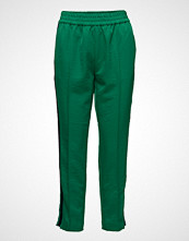 Scotch & Soda Tailored Pants With Velvet Side Tapes Bukser Med Rette Ben Grønn SCOTCH & SODA