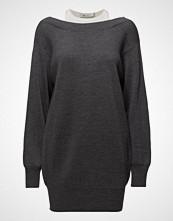 T by Alexander Wang Bi-Layer Knit Dress W/ Inner Tank