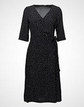 Morris Lady AiméE Print Dress Kort Kjole Svart MORRIS LADY