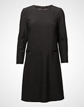 Mos Mosh Kara Hayes Dress Knelang Kjole Svart MOS MOSH