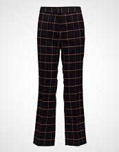 Bruuns Bazaar Donna Cathrine Pant Bukser Med Rette Ben Blå BRUUNS BAZAAR