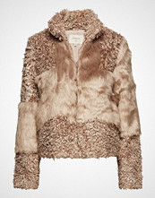 Cream Cassie Fur Jacket