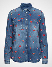 Zoe Karssen Embroidered Denim Shirt