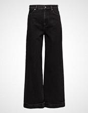 3.1 Phillip Lim Wide Lg Denim Pant W Zipper Vide Bukser Blå 3.1 PHILLIP LIM