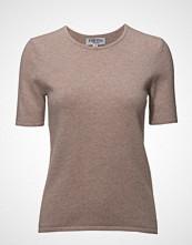 Davida Cashmere T-Shirt T-shirts & Tops Short-sleeved Rosa DAVIDA CASHMERE