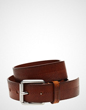 Calvin Klein J Leather Embossed Belt 3.5cm