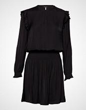 Scotch & Soda Drapey Dress With Smock Details