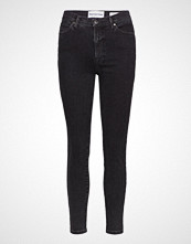 Tomorrow Bowie Hw Cropped Original Black Skinny Jeans Svart TOMORROW