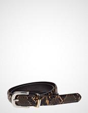 Mango Snake-Effect Belt