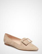 Mango Buckle Flat Shoes