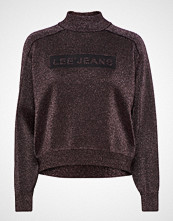 Lee Jeans Lurex Knit Høyhalset Pologenser Lilla LEE JEANS