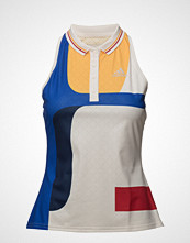 adidas Tennis Ny Color Block Tank T-shirts & Tops Sleeveless Blå ADIDAS TENNIS