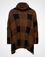 Rabens Saloner Blurred Check Tunic Sweater