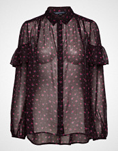 French Connection Pf Florence Crinkle Blouse