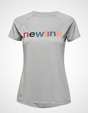 Newline Black Heather Logo Tee