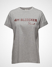 Notes du Nord Ilo Grey Melange T-Shirt T-shirts & Tops Short-sleeved Grå NOTES DU NORD