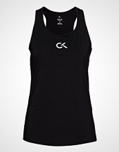 Calvin Klein Performance Tank Logo T-shirts & Tops Sleeveless Svart CALVIN KLEIN PERFORMANCE