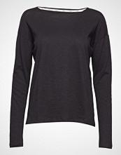 Stig P Dorrie Organic T-Shirt T-shirts & Tops Long-sleeved Svart STIG P