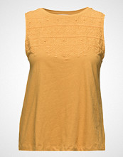 Mango Embroidered Cotton Top