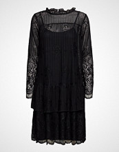 Soft Rebels Joy Layer Dress Kort Kjole Svart SOFT REBELS