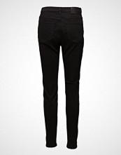Selected Femme Slfmaggie Hw Skinny Black Jeans W Noos Stramme Bukser Stoffbukser Svart SELECTED FEMME