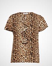 Saint Tropez Leopard Print S/S Blouse