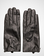 Selected Femme Slfmira Leather Glove B Hansker Svart Selected Femme