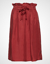 Scotch & Soda Cupro Skirt With Tie Detail At Waistband