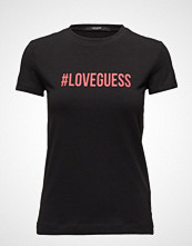 GUESS Jeans Ss Cn Lettering Tee