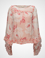by Ti Mo Delicate Semi Couture Flared Blouse