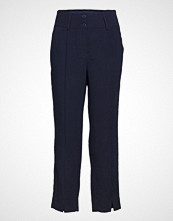 Diana Orving Trousers Bukser Med Rette Ben Blå DIANA ORVING